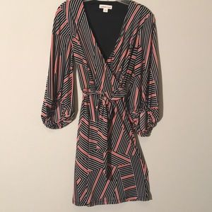 Coldwater Creek 3/4 sleeve polyester dress